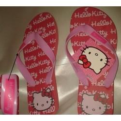 Paire de Tong Hello Kitty