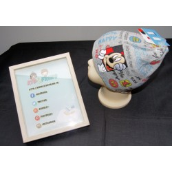 Bonnet Mickey - Gris