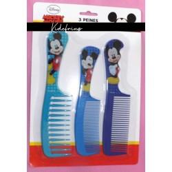 Lot de 3 peignes - Mickey
