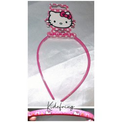 Serre tête Hello Kitty - Rose