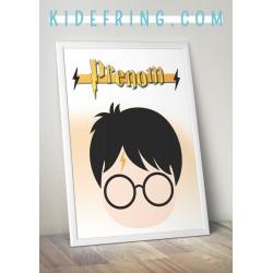 Affiche personnalisée Harry...