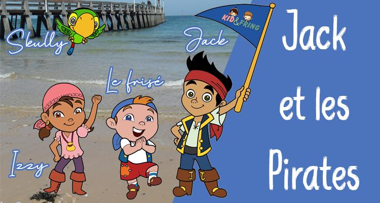 Bannière - Jack et les Pirates - Kidefring
